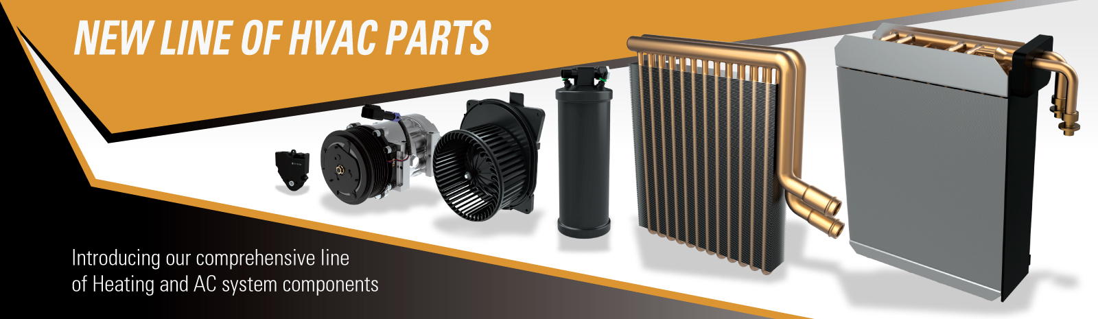 New Line of HVAC Parts