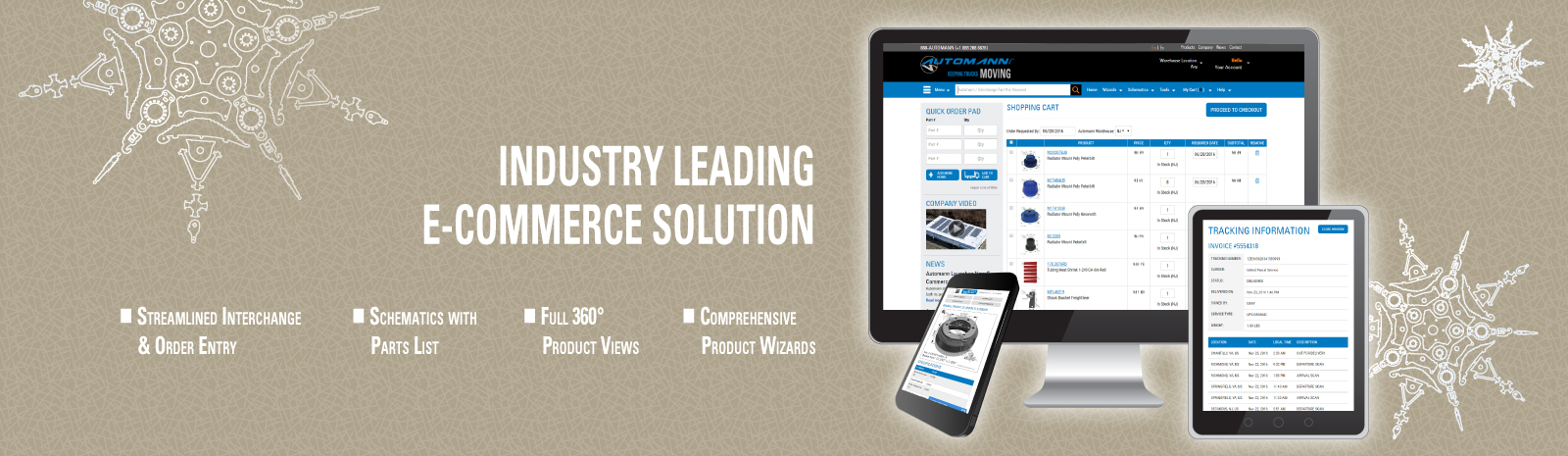 INDUSTRY LEADING E-COMMERCE SOLUTION