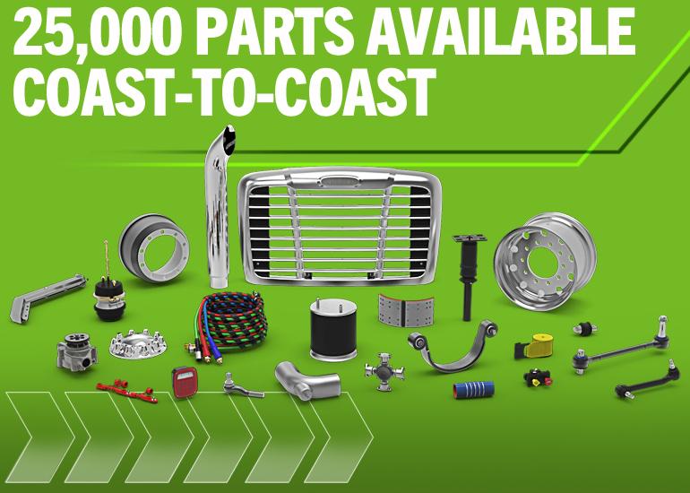 25000 Parts